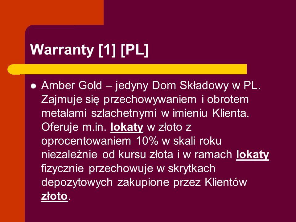 Warranty [1] [PL]